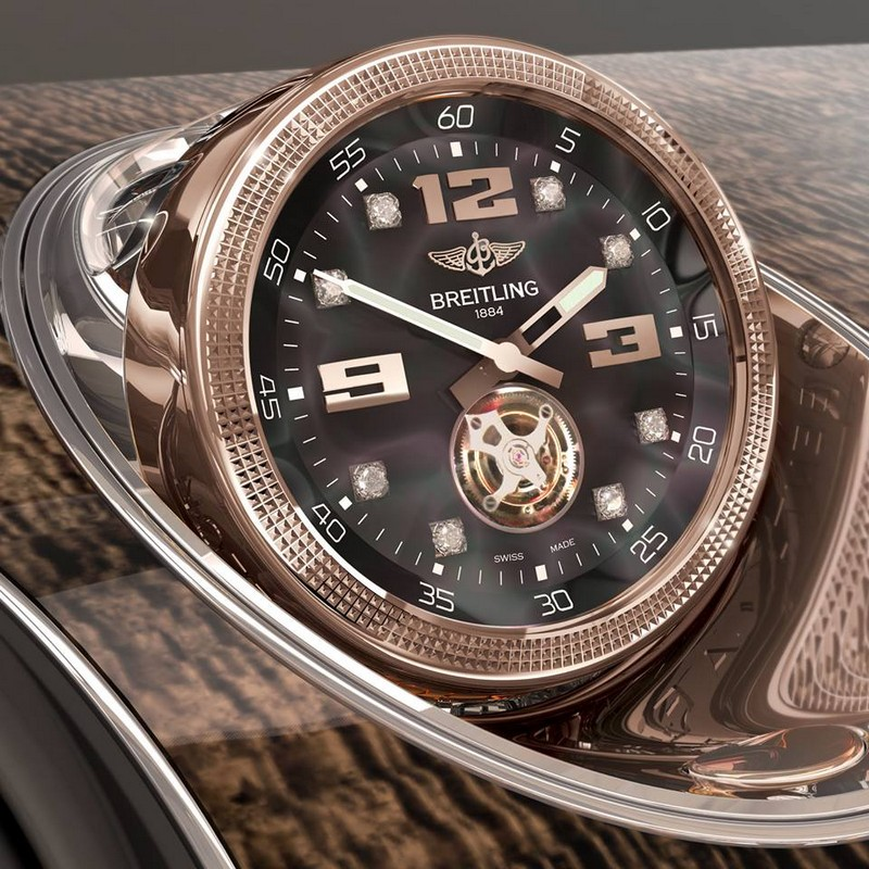 The-Mulliner-Tourbillon-clock-by-Breitling-Bentley-Bentayga-2015-2luxury2