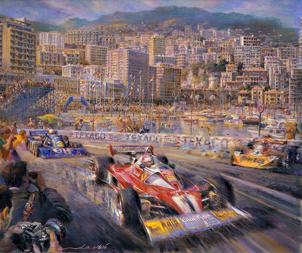 Buy Here Pay Here Orlando >> Festivals of Speed | World renown automotive artist Alfredo De La Maria signs deal to distribute ...
